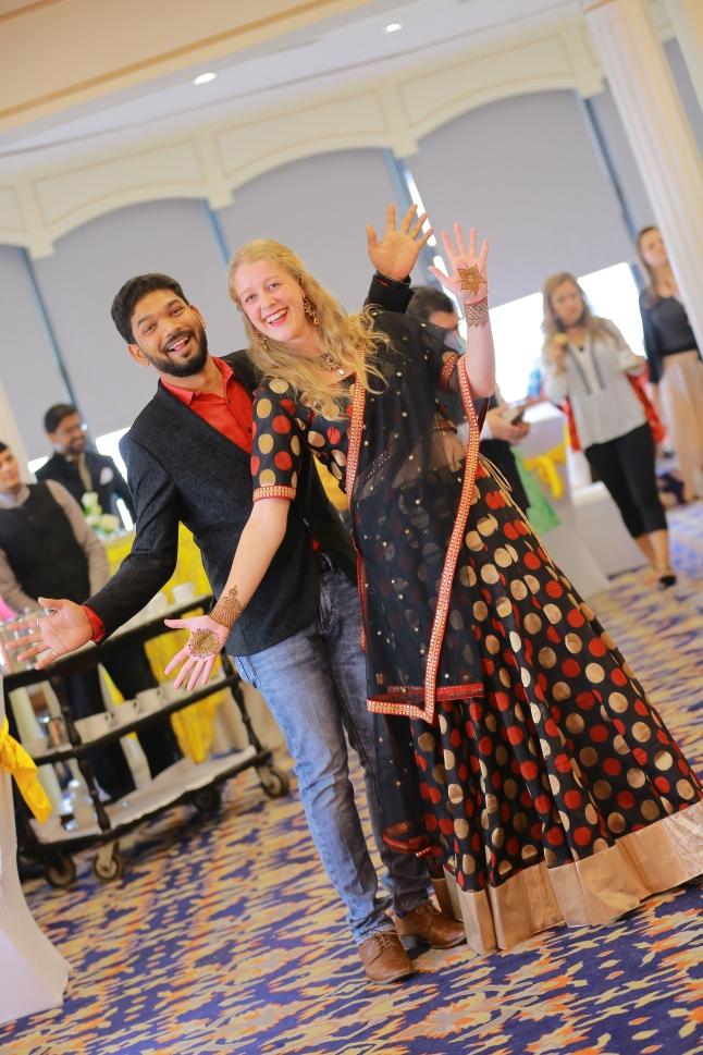 hindoe huwelijk sangeet mehendi